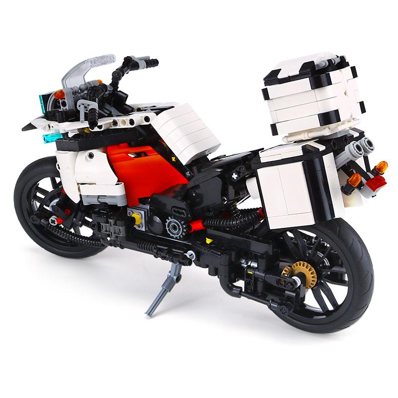 Building Block City Classic Tricycle-Motorcycle Toy Figure 838PCS