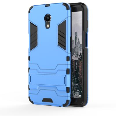 Cool Iron Man Armor Heavy Duty Stand Full Body Dual Layer Rugged Cover for Meizu Gionee