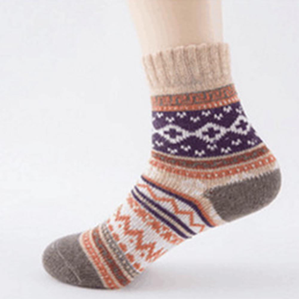Details about  /3-12 Pairs Women Wool Cashmere Warm Soft Thick Casual Multicolor Winter Socks