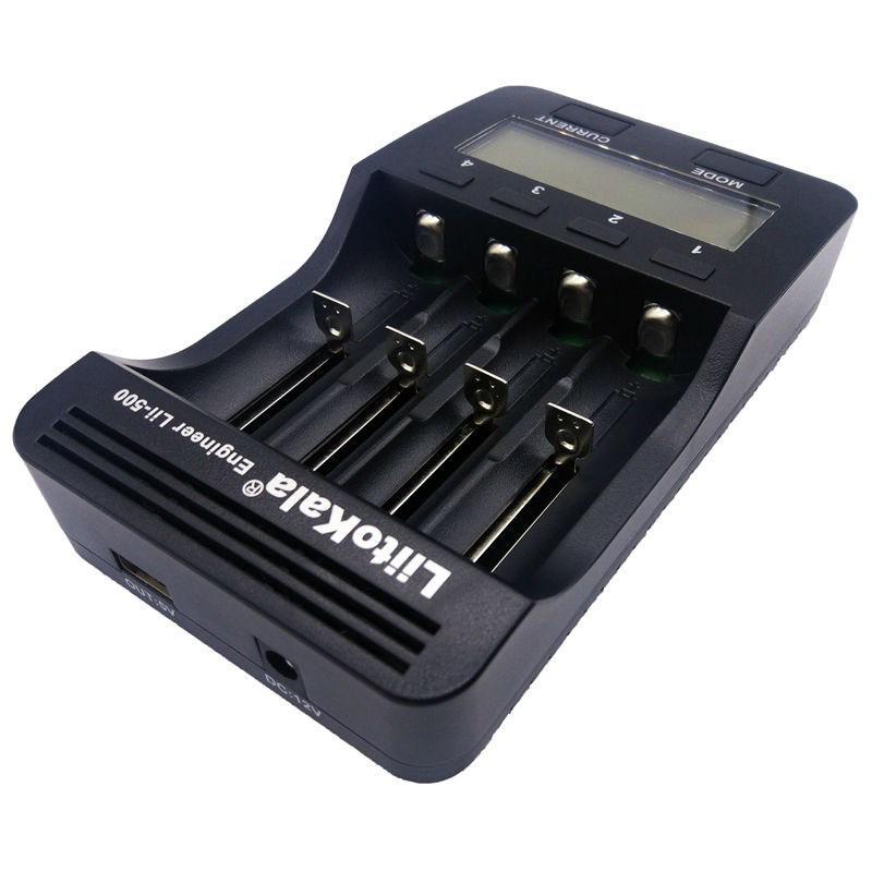 LiitoKala Lii-500 18650 Smart Li-ion NiMH Battery Charger LCD Display US Plug