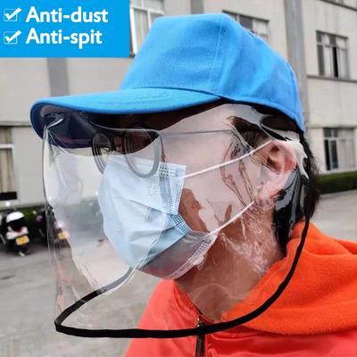 15 Bulk Full Face Shield Guard Goggles Glasses Frame Visor Hat Anti Splash Spit