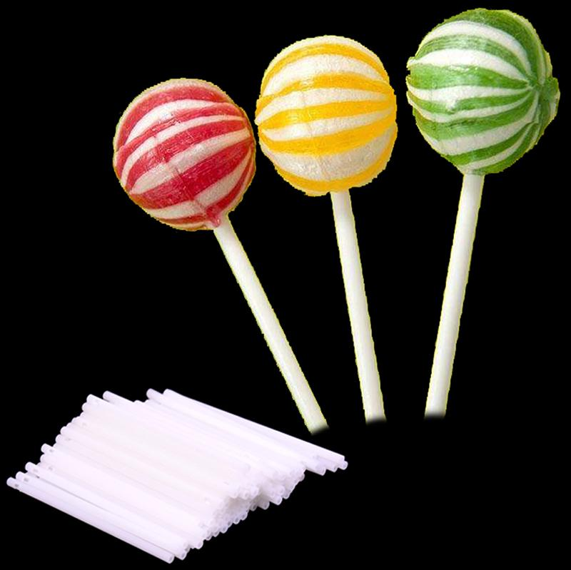 100pcs Lollipop Lolly Stick Party Supplies Candy Chocolate Cake Making Mould