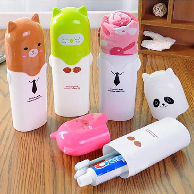 Зубная щетка держатель открытый путешествий кемпинг зубной случае Multi Cap хранения домохозяйства