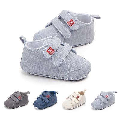 Mother & Kids Spring Autumn Baby Girls Shoes Kids Soft Sole Anti-slippolka Dot First Walkers Casual Walking Crib Shoes