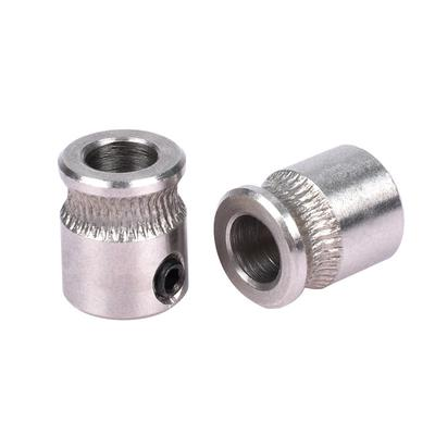 MK8 Extruder Drive Gear Hobbed Stainless Steel For Reprap Makerbot 3D Printer/_Z6
