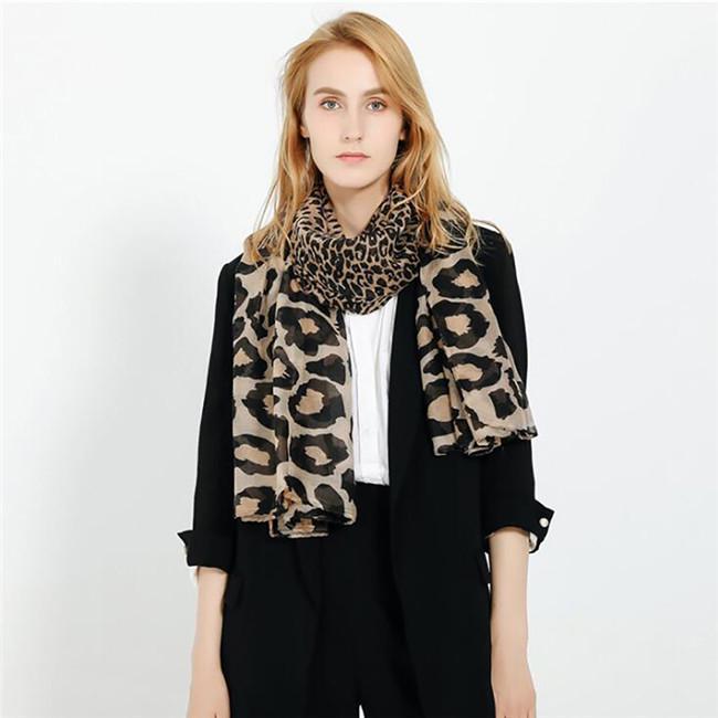 Zebra Stripe Scarf Voile Light Long Soft Fashion Special Girls
