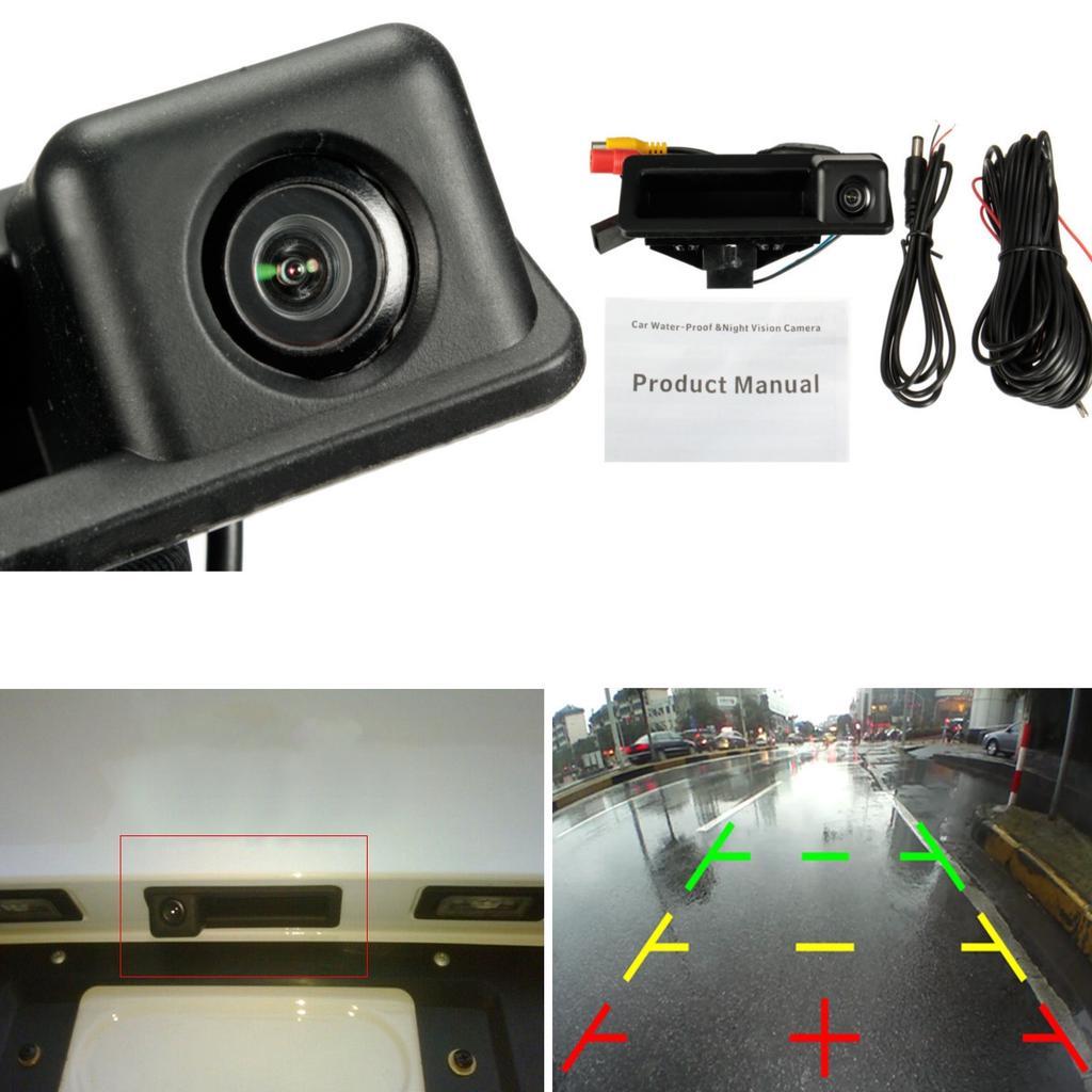 Waterproof 170 Car Rear View Camera for BMW E39 E46 1//3//5 Series E60 E82 E90 ND