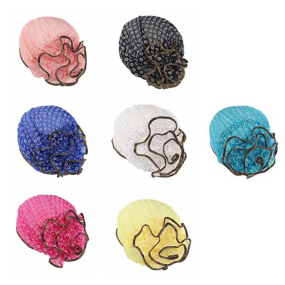 Red de pelo floral sombrero del patrón del cordón - comprar a ...