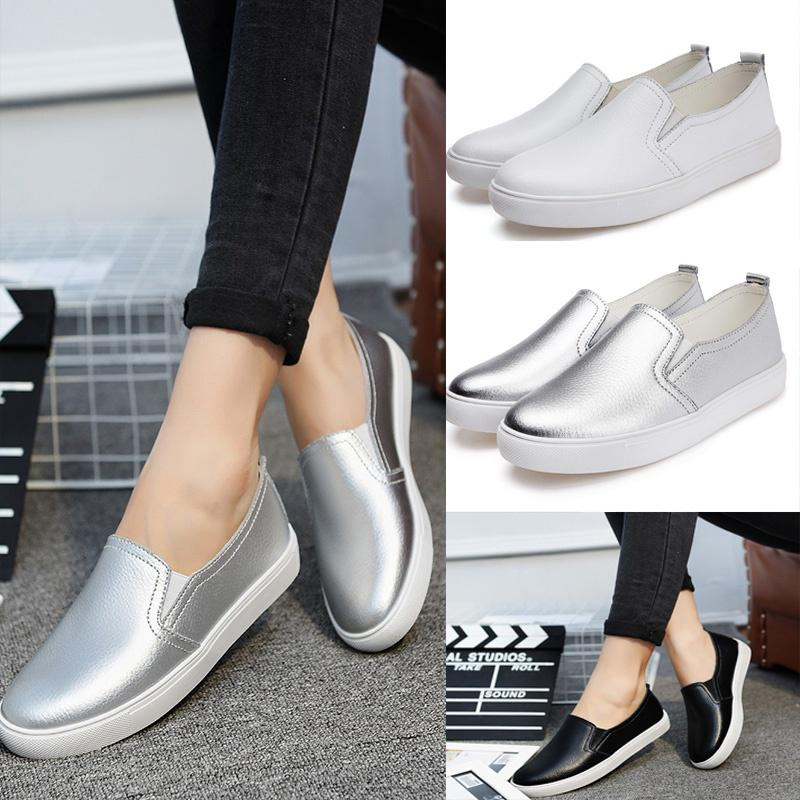 46ed029b880 Women Shoes Spring Summer Fashion Slip On Flats Loafers Casual Shoes ...