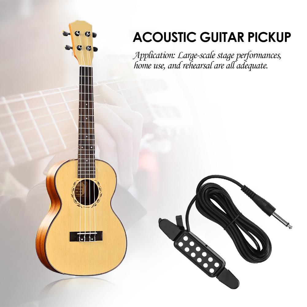 Akustische Gitarre Pickup System für Fishman VT1 Schwanz Nagel Pickup EQ DI //Neu