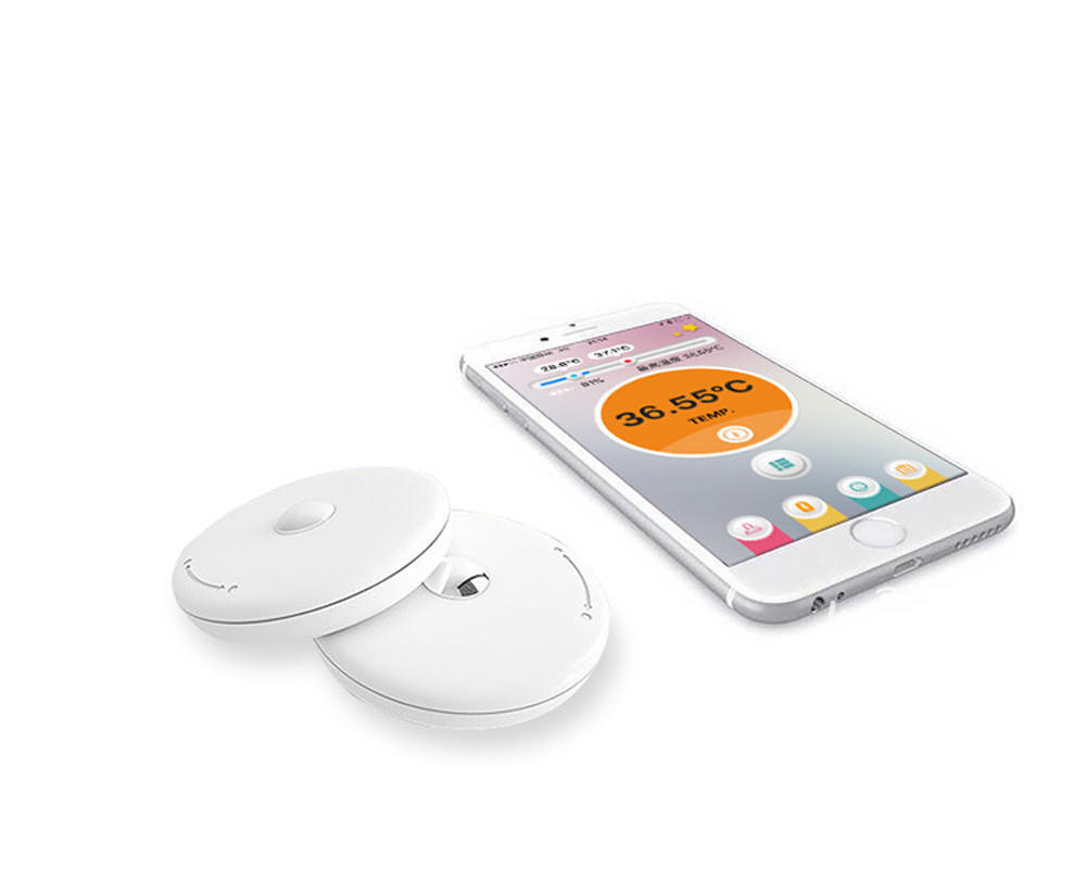 Baby Thermometer Monitor Intelligent Wearable Safe Thermometer Bluetooth Smart