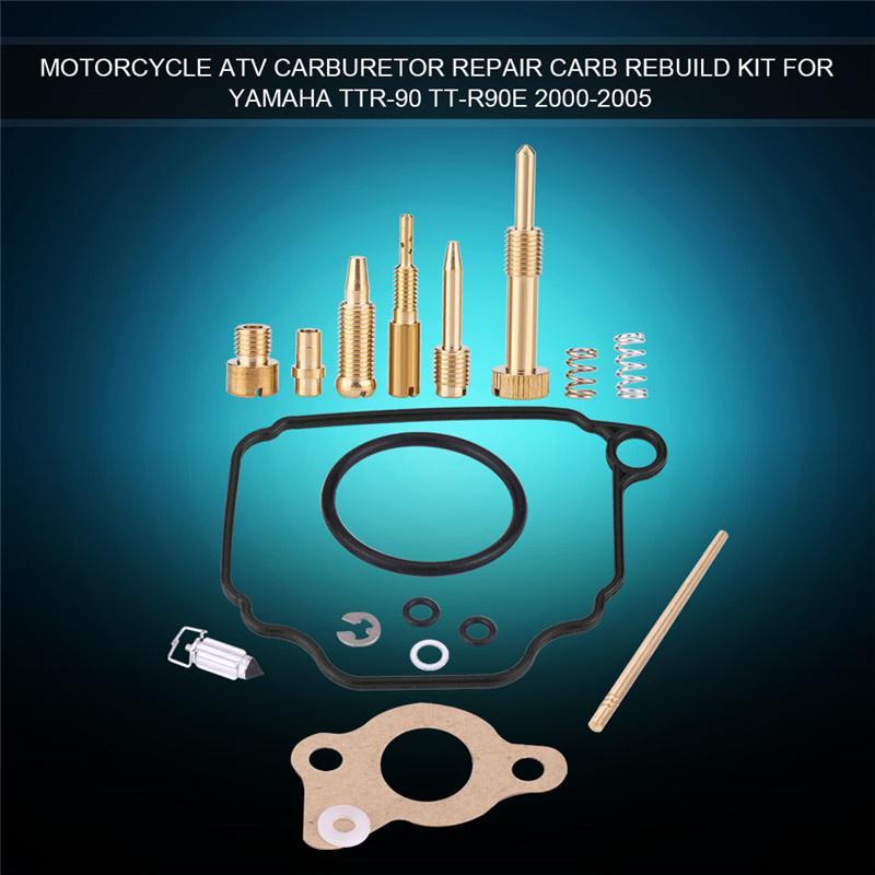 Carb Repair Carburetor Rebuild Kit for TTR-90 TT-R90E 2000 2001 2002 2003 2004 2005