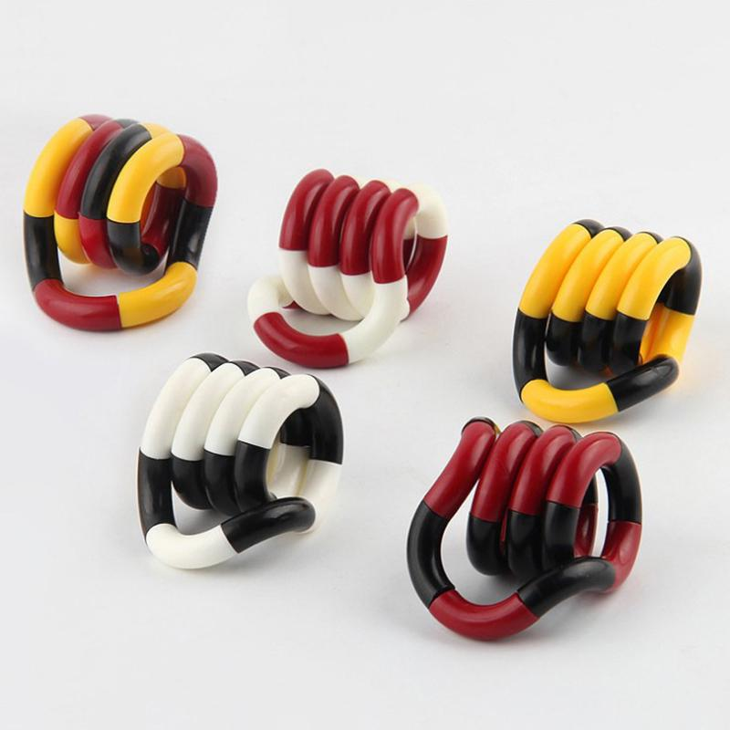 Candy Color Assembly Twisted Ring Fidget Toy Antistress Relied Funny Joke Easily Adult Children Toys Buy From 2 On Joom E Commerce Platform