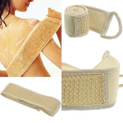 Bath Shower Massage Spa Scrubber Sponge Brush Towel Body Skin Health Cleaning