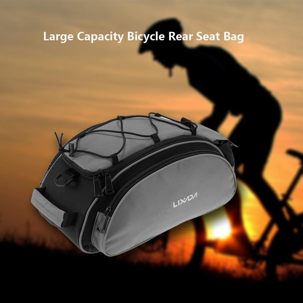 Bike Bags Luggage Carrier Seat Multifunctional Bag MTB Road Bike Carrier Bag