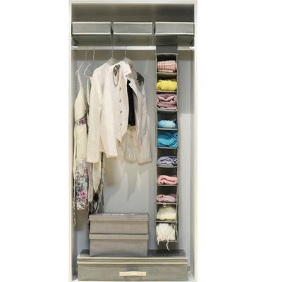 3PCS Underbed Cloths Storage Box Non-woven Quilt Foldable Bag Wardrobe