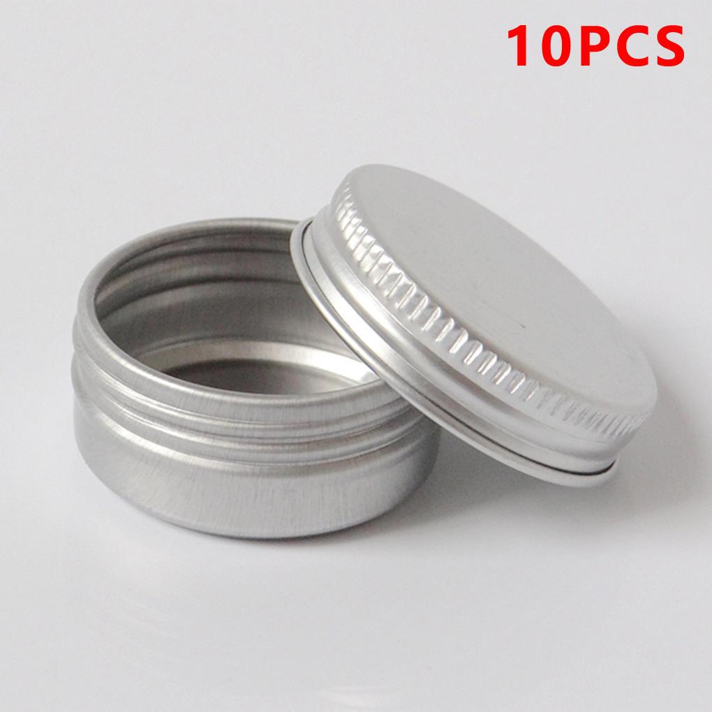 Pot Container 10pcs Cream Lip Jar Nail Tin Make Case Up Cosmetic Buy Kosmetik 15ml 1 Of 5