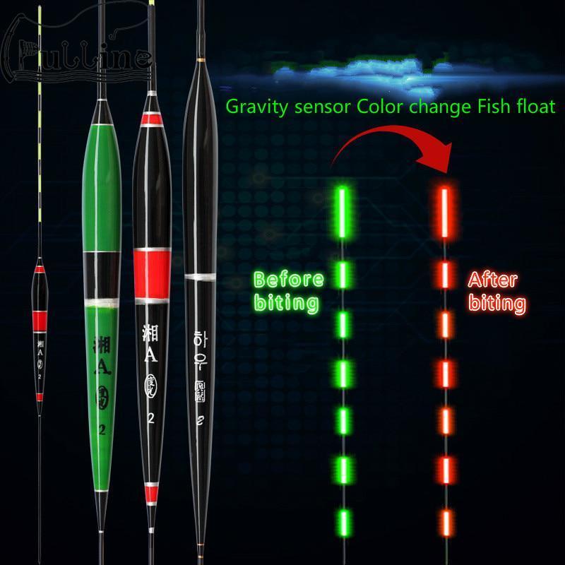 1pc LED Electronic Fishing Float Luminous Fishing Buoy Night Fishing Tackle Hf