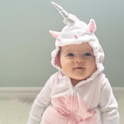 117febf7ff06 Costume Newborn Unicorn Baby Girls Unicorn Romper Jumpsuit Jumper ...