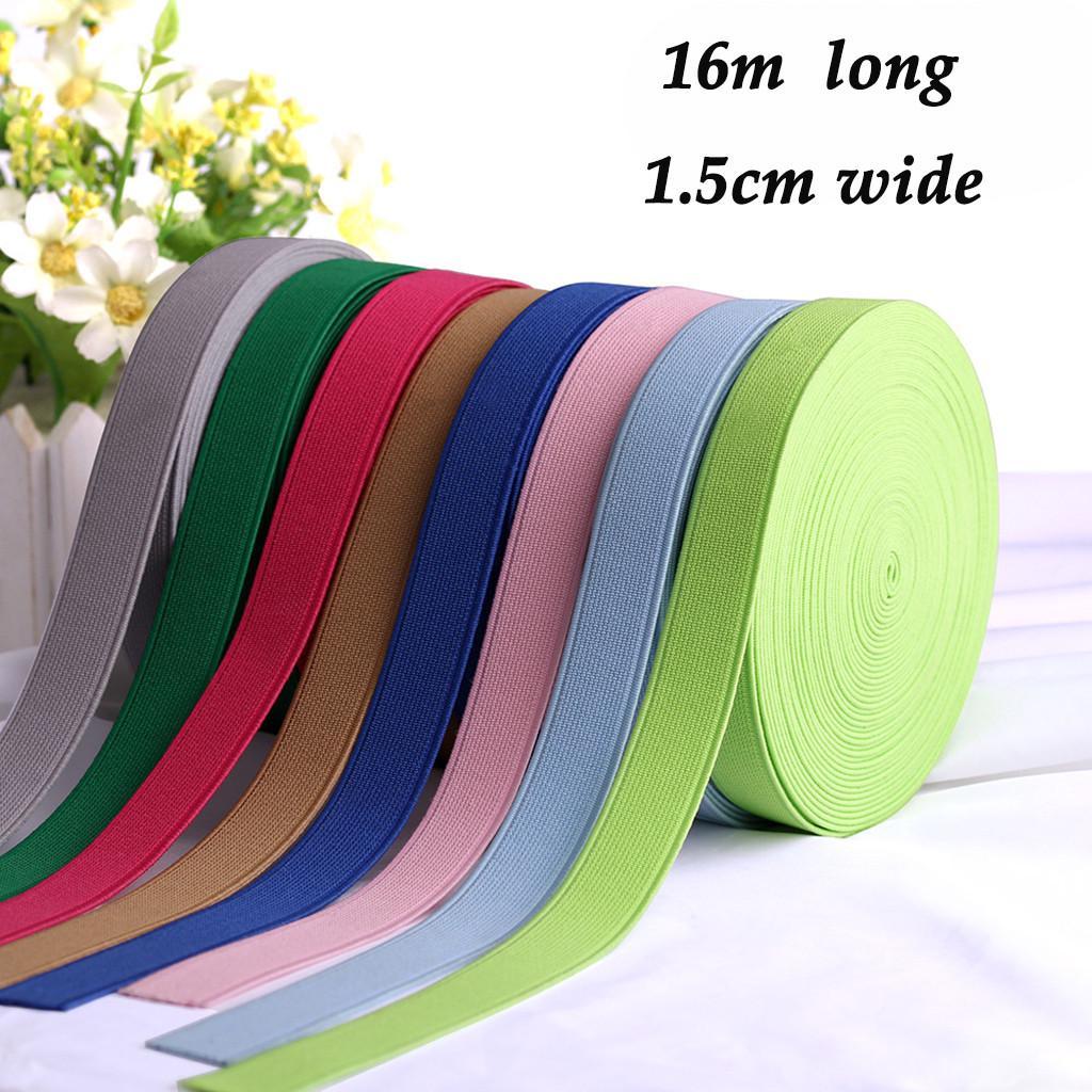 10M Bias Binding Flexible Tape Trimming Ribbon Sew Craft Strap Webbing Edge Blue