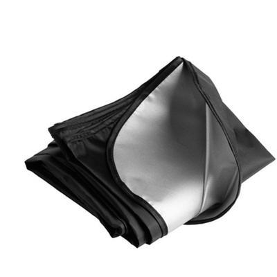 Pluie Givre glace et Neige Couverture de Pare-brise Magn/étique Universel 200*70cm Polyester Protection Voiture Repliable Pare Soleil Pare-brise Avant pour Voiture Anti UV