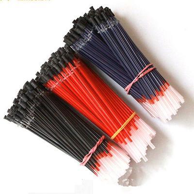421057480cceba 20pcs 0,5 mm ufficio firma Gel Pen Refill inchiostro neutro blu nero rosso  rullo