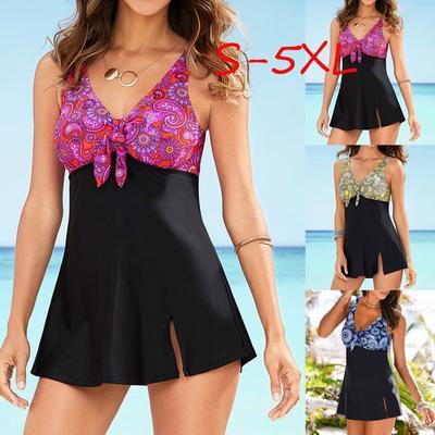 Plus Size Push Up Swimsuit Vintage Bathing Suit Beach Wear Tankini Set Buy At A Low Prices On Joom E Commerce Platform
