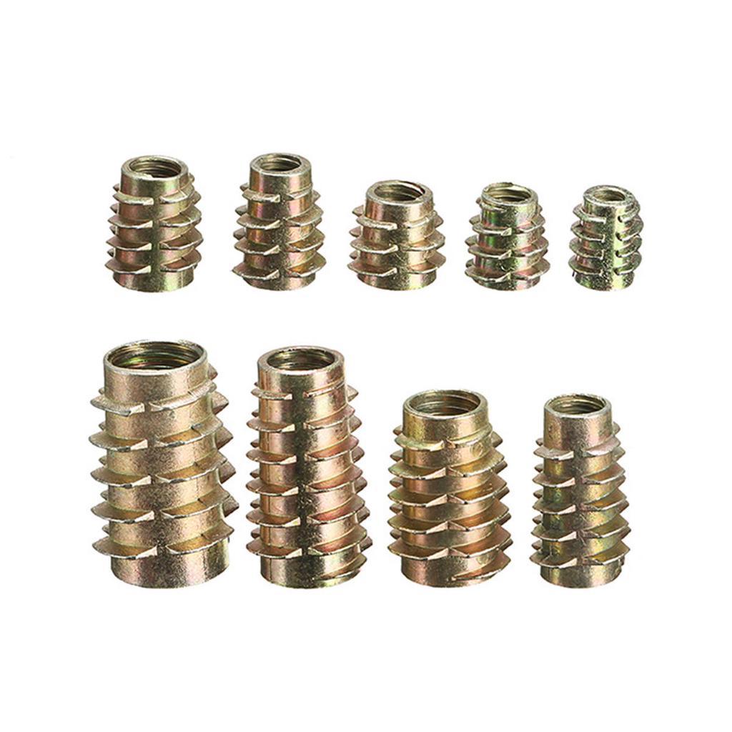 Pack de 2 M10x25 brass hex tête boulons écrous /& rondelles ensemble en laiton vis x 2