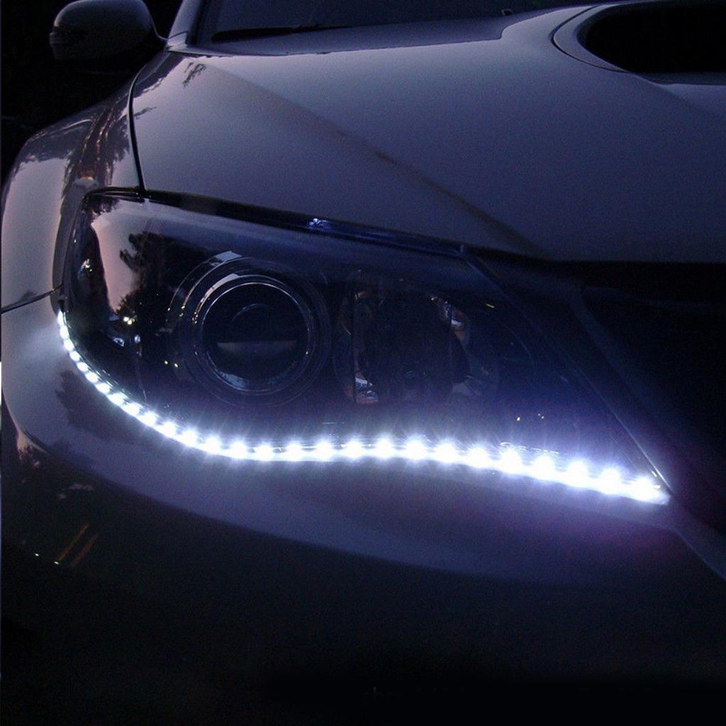 30cm LED Strip Daytime Running Turn Signal Light Boat Truck Car Decoration