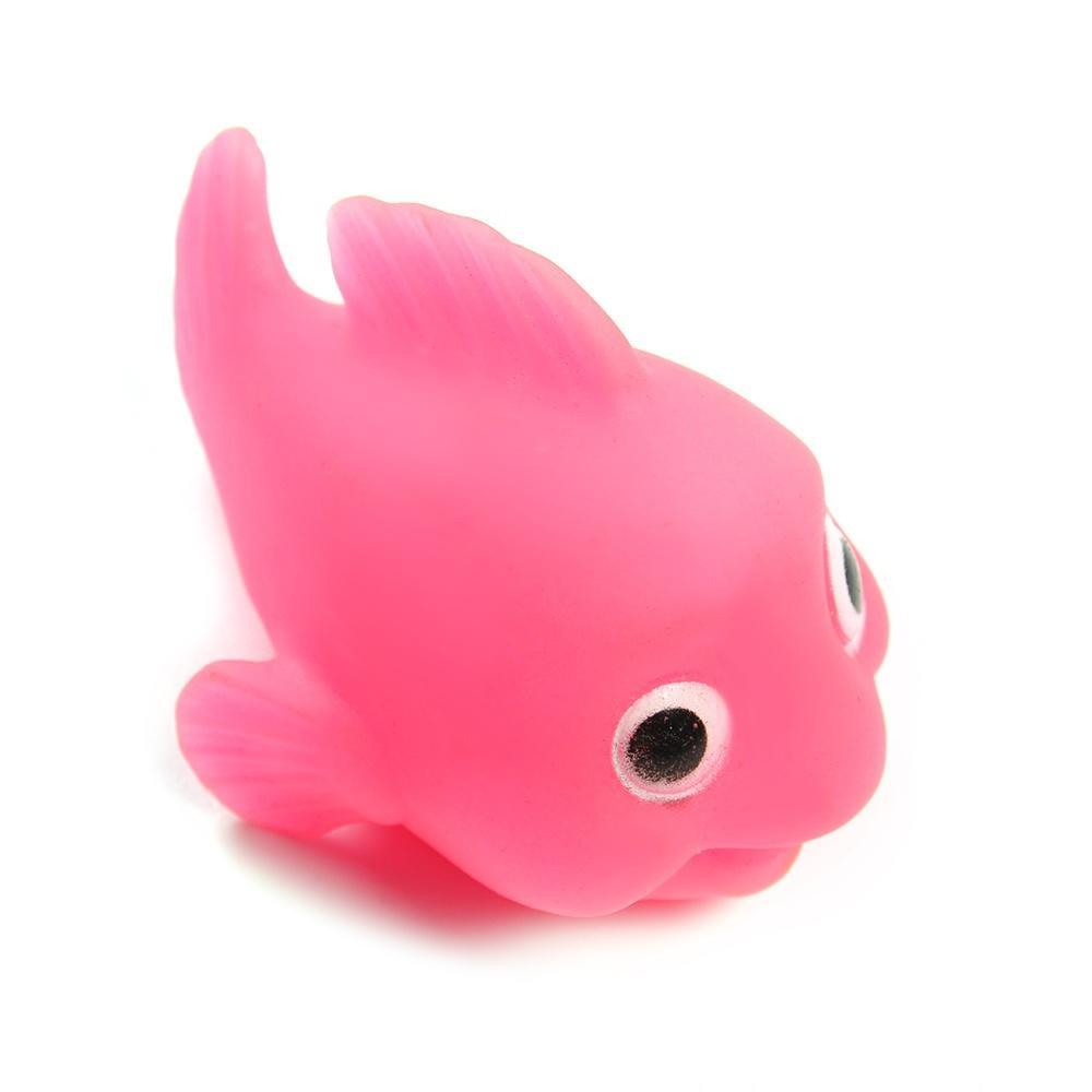 1x Bathroom LED Light Kids Toys Water Induction Waterproof In Tub Bath Time Fun