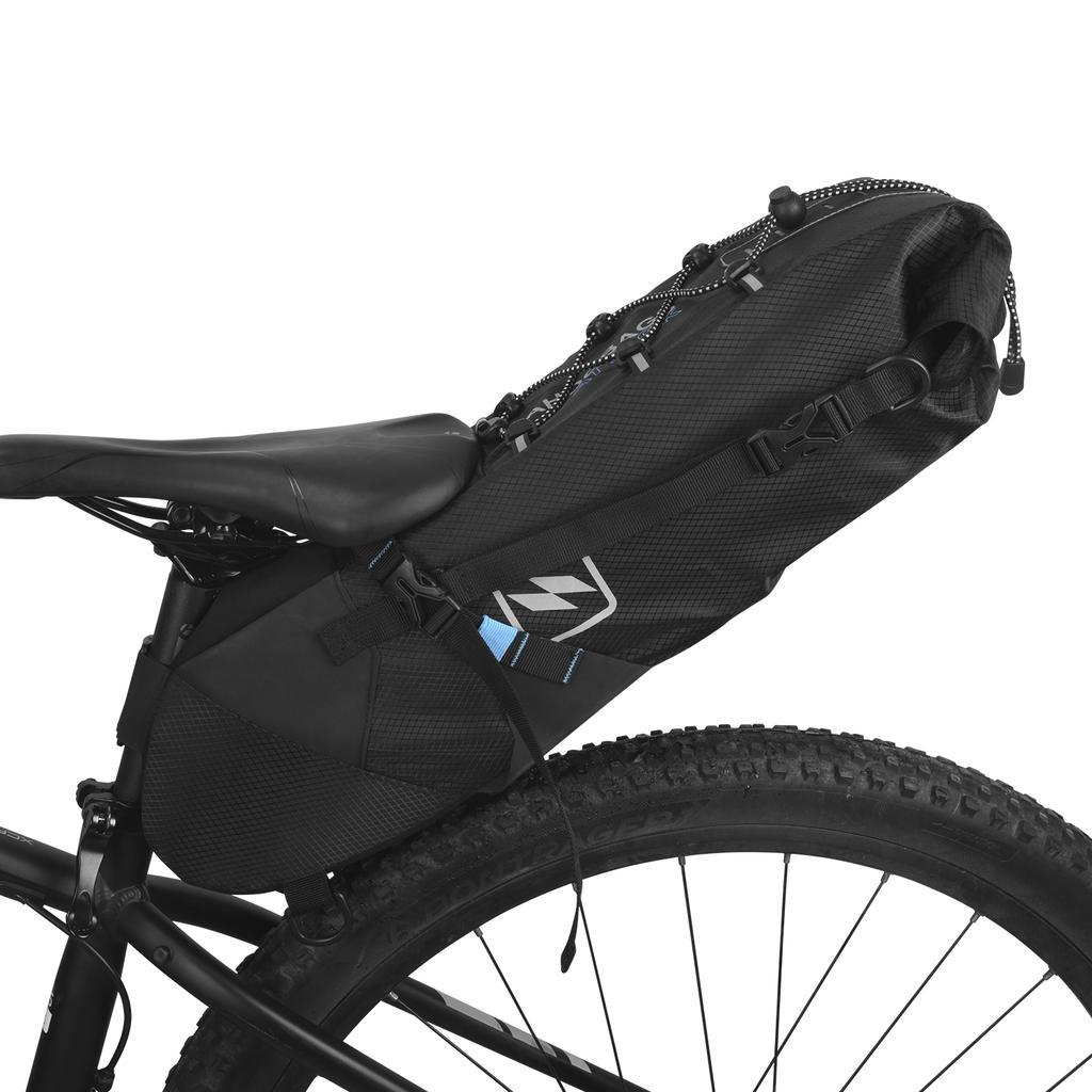 WILDMAN Bicycle MTB Road Bike Seat Bag Waterproof Saddle Tails Cycling Pouch Bag
