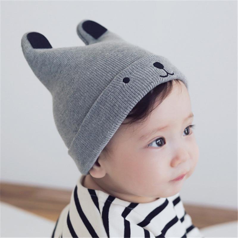 Boys Girls Cotton Hat Baby Toddlers Hats Littte Kids Winter Cap Children Beanies