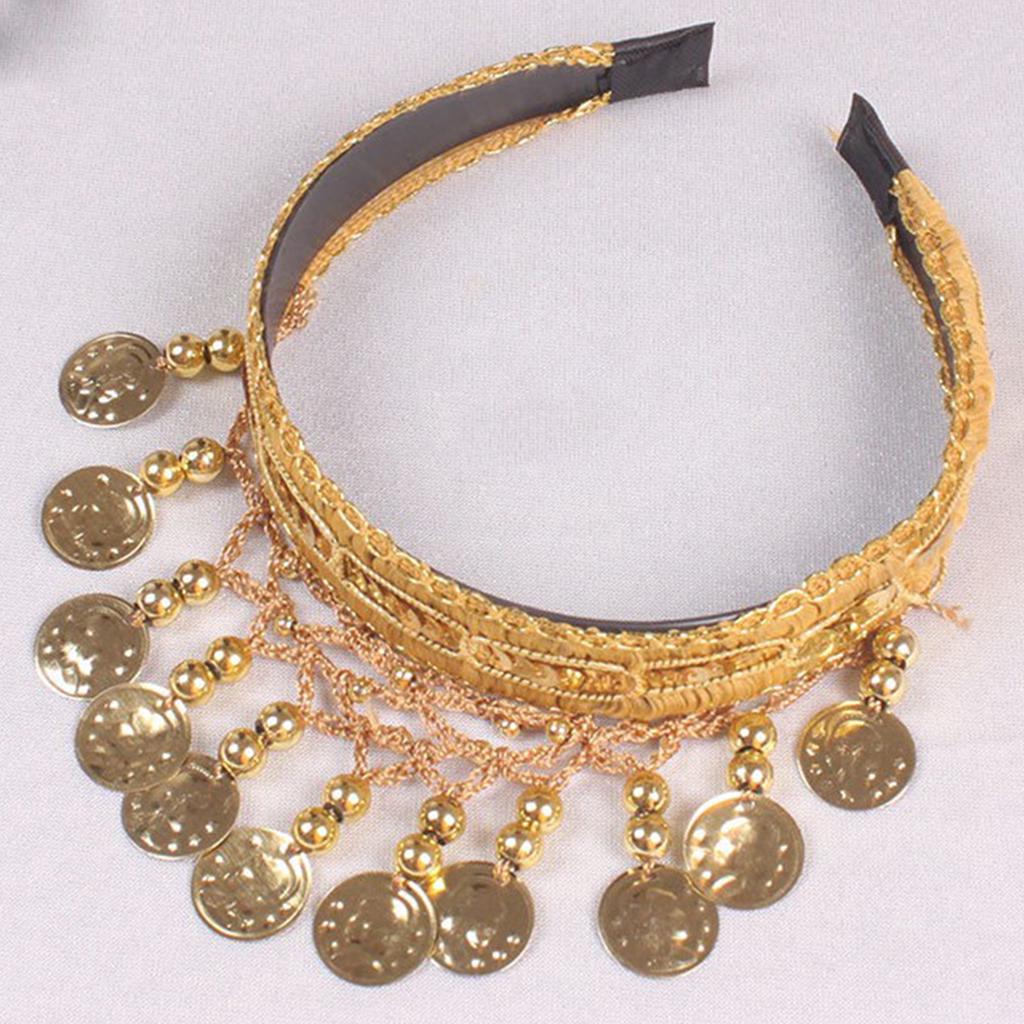 aspect minunat moda inalta vânzări la cald Belly Dance Tribal monede cu bandă de susţinere festivalului costum  accesoriu bijuterii - cumpărați cu prețuri reduse din magazinul online Joom