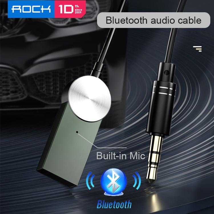 Rock Aux Bluetooth Adapter Dongle Cable For Car 3 5mm Jack Aux Bluetooth 5 0 4 2 4 0 Receiver Speaker Audio Music Transmitter Buy From 10 On Joom E Commerce Platform