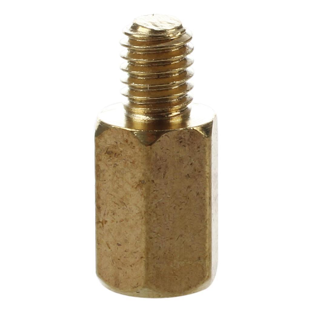 10/mm corps long M3/x 6/mm m/âle femelle en laiton boulons pour pilier Spacer 50