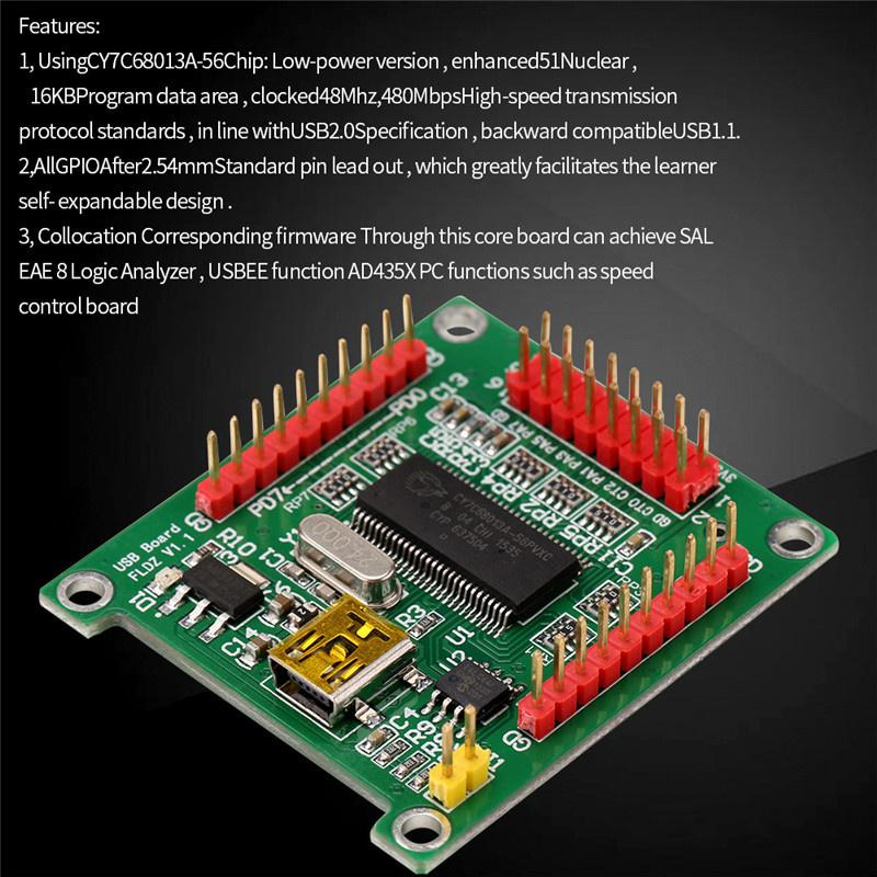 USB2.0 CY7C68013A control board ADF4350  evaluation board signal source