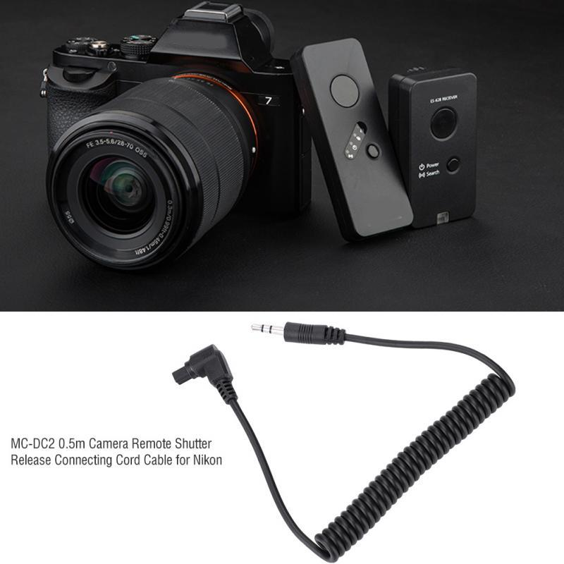 2.5mm to MC-DC2 N3 Remote Shutter Release Cable for Nikon D7100,D7200,D7000