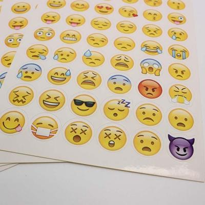 Lovely Cut Smile Sticker For Notebook Message High Vinyl Funny