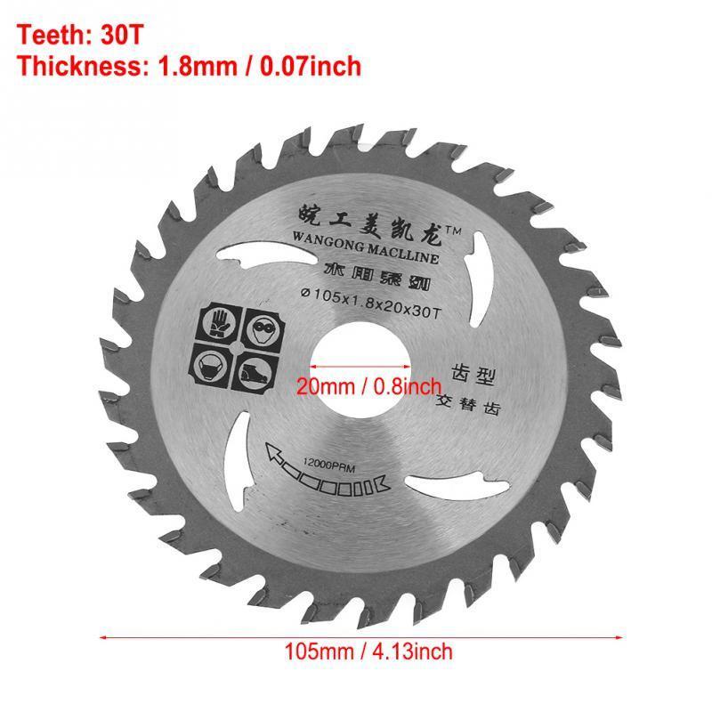 HSS Lame de scie 60 mm 36 Dents//72 Dents Circulaire Coupe Roue Avec 16 mm Arbor