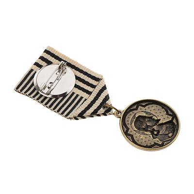 2 en 1 Set Vintage Style Lapel PINS uniforme médaille badge broches Unisexe Cadeau