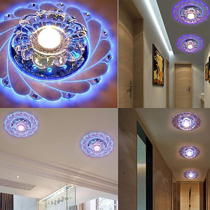 Потолочная люстра в форме цветка с кристаллами – купить по низким ценам в интернет-магазине Joom