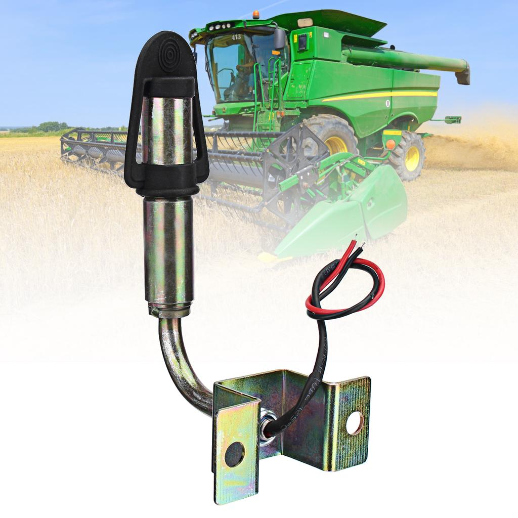 DIN Beacon Mount Threaded Mounting Pole//Stem For Rotating Flashing Tractor Light
