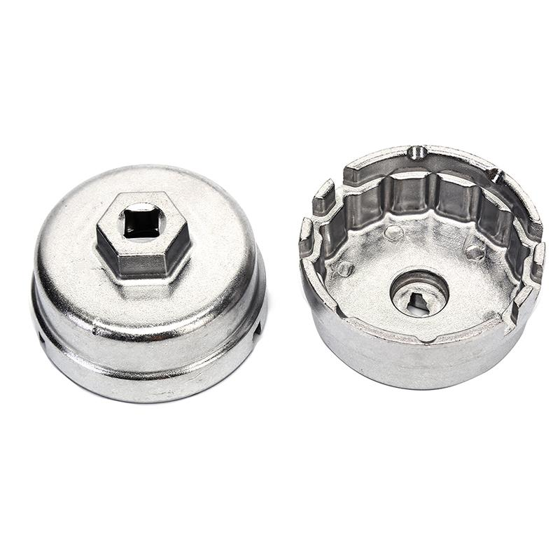 14 Flutes Oil Filter Cup Wrench Tool for Toyota Auris Avalon Corolla Rav4 Camry