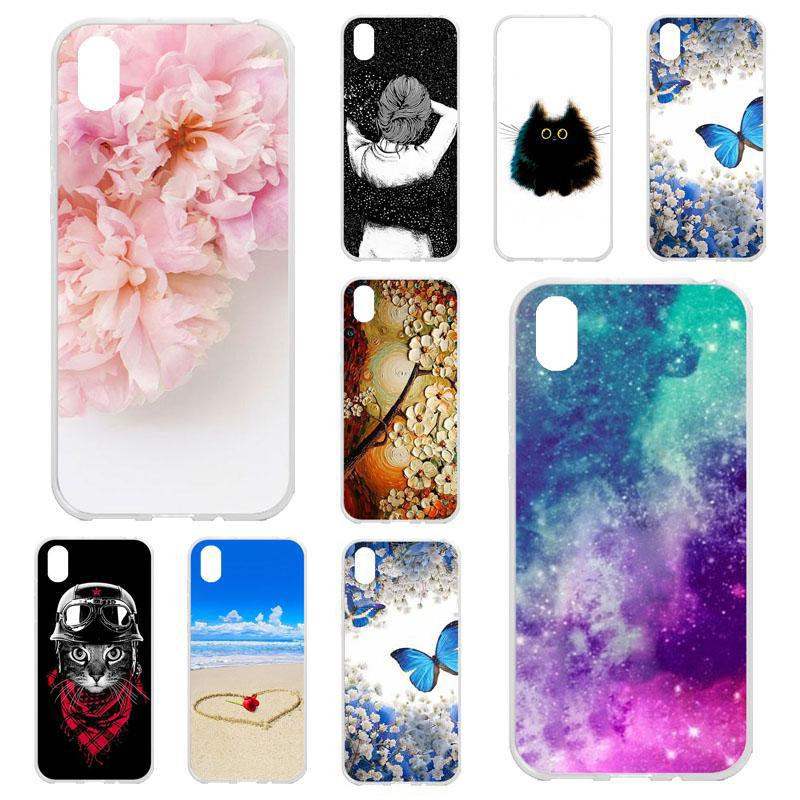 Phone Cases for Huawei Y5 2019 AMN-LX9 AMN-LX1 AMN-LX2 Honor 8S 5.71 Inch Covers Silicone Soft TPU Phone Bumpers