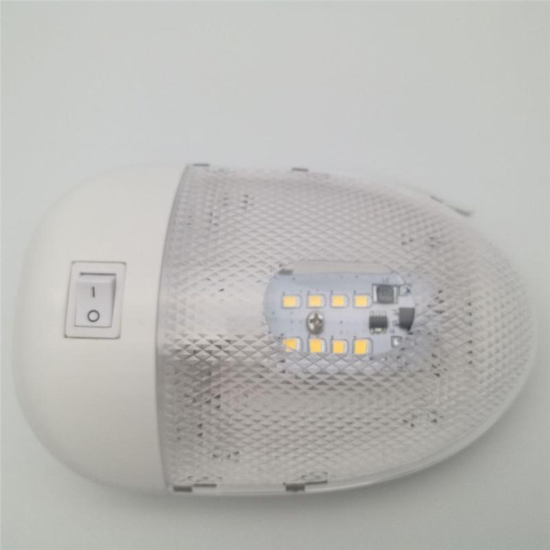 2 Szt 12v 170lm Oświetlenie Led Rv Sufitowe Oświetlenie Wewnętrzne Rv Dla Przyczep Kempingowych