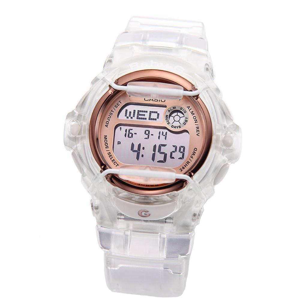 Casio Baby G ► Uhrenarmband 20mm Textil rosa ►  BG-169DB-4A BG-169DB