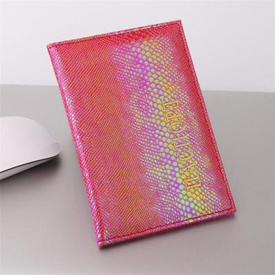 Leather Bags Wallets Business Men Travel Women Passport Holder Cover Card