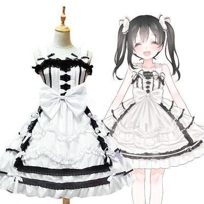 3pcs Costume Halloween Cosplay Serre-t/ête dOreille et Queue de Chat et Cravate Bowknot pour Cosplay Party Halloween Blanc 1