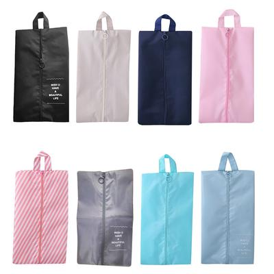 6 PCS Travel Pouch Organiser Laundry Portable Tote Drawstring Storage Bag Shoe