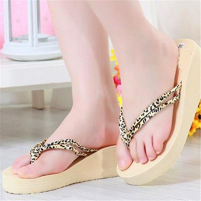 b38978aa06ab35 Women Antiskid Slippers Fashion Classic Leopard Lady Flip-flops Breathable  Soft Slippers
